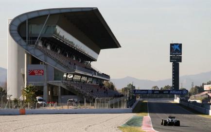 Force India en los test de Barcelona de 2016 - SoyMotor.com