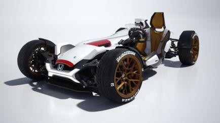 Honda Project 2&4: un deportivo ligero con motor eléctrico