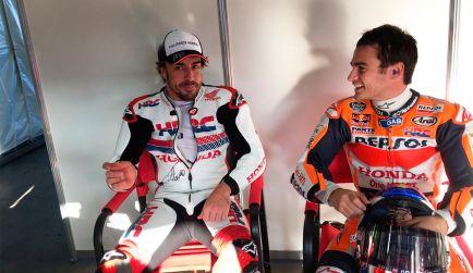 """Alonso no habla de Mercedes: """"Un honor ser piloto McLaren-Honda"""""""