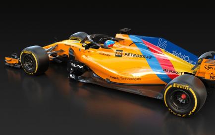 Alonso correrá con un McLaren especial en su último GP de F1