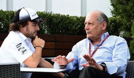 """Alonso sobre su relación con Dennis: """"Estoy en McLaren gracias a él"""""""