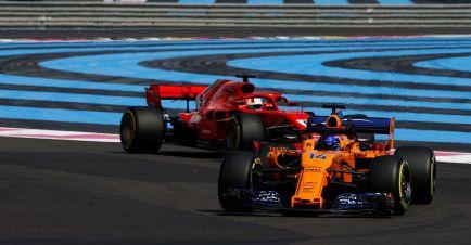 """Alonso sobre el toque de Vettel: """"Otras veces no le saldrá bien"""""""