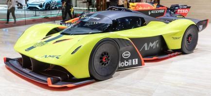 Aston Martin planea alinear cuatro Valkyrie en Le Mans