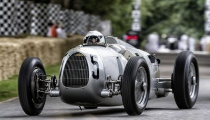 El Auto Union Type C de 1936, en Goodwood