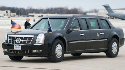 Los coches de Putin y Trump: bestias acorazadas
