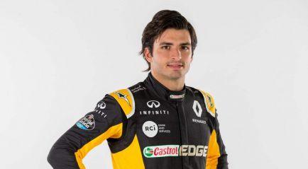Primeras imágenes de Carlos Sainz en Renault