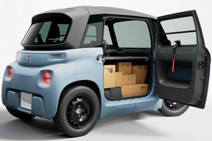 El Citroën Ami ahora también es un coche de reparto