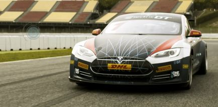 Nuevo Tesla Model S para Electric GT: un P100D con tracción total