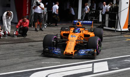 """Alonso partirá 11º: """"Salimos en la Pole Position del grupo medio"""""""