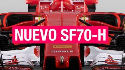 VÍDEO: Ferrari presenta el SF70-H