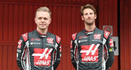 Haas confirma a Grosjean y Magnussen para 2018
