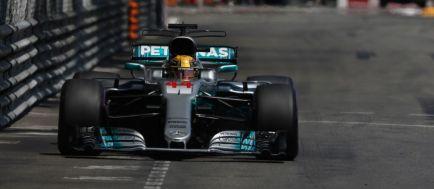"""Hamilton: """"Soy séptimo, buenos puntos; mejor de lo que esperaba"""""""