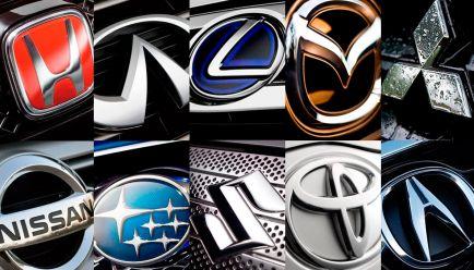 Historia de los logotipos V: Japón