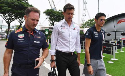 Mercedes no ve viable comprar un asiento a sus pilotos jóvenes