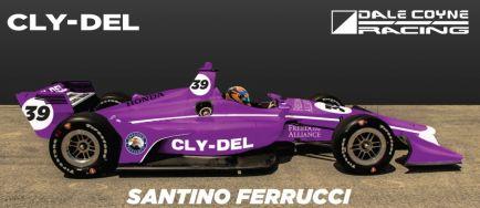 Ferrucci correrá las dos últimas citas del año de la IndyCar