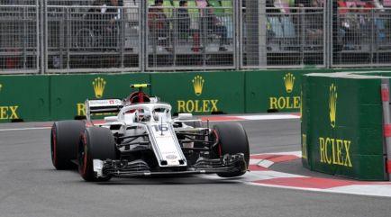 """Leclerc achaca sus buenos resultados al """"enorme"""" progreso de Sauber"""