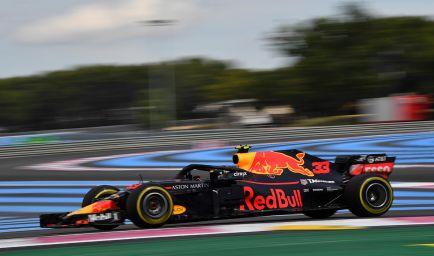 """Verstappen, segundo en Francia: """"Siempre está bien subir al podio"""""""