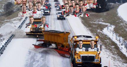 El orden de salida siempre será polémico, ya sea rally o F1