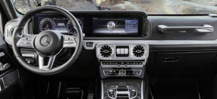 Nuevas imágenes del interior del Mercedes Clase G 2018