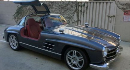 El Mercedes SLK32 que quiso ser 300SL 'Gullwing'