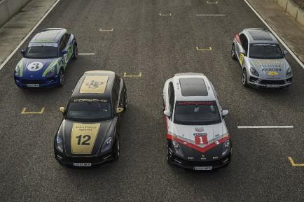 Macan Tribute: homenaje a la historia de Porsche en competición
