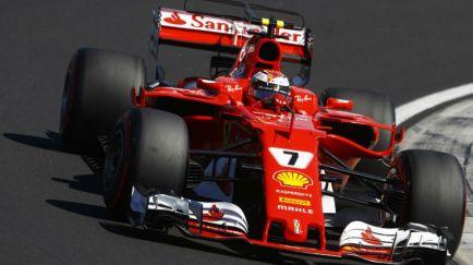 F1 por la mañana: Räikkönen vestirá de rojo un año más