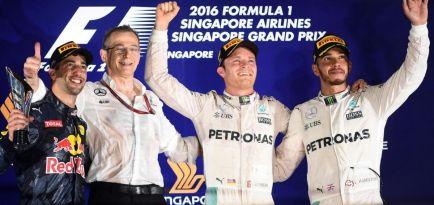 Ricciardo se suma a la opinión de que Rosberg será campeón