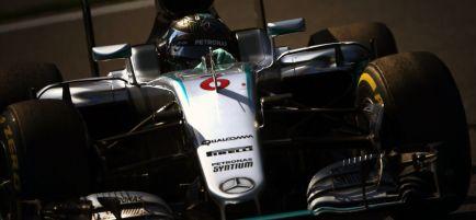"""Rosberg: """"No esperaba que Lewis pudiera llegar al podio"""""""