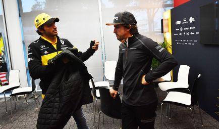 """Sainz: """"Es positivo que te fichen para seguir los pasos de Alonso"""""""