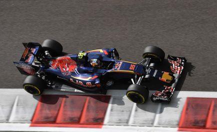 """Sainz y los nuevos colores del STR12: """"Será azul, pero no puedo hablar"""""""