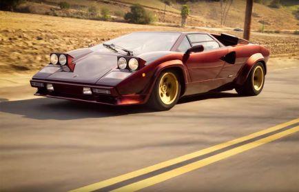 VÍDEO: Valentino Balboni y un Lamborghini Countach, dos mitos juntos