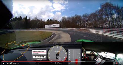 """VÍDEO: Así ha sido el 6'56""""4 del 911 GT3 RS en Nürburgring"""