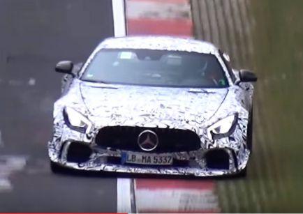 Mercedes-AMG GT R 2017: la versión Black Series se acerca