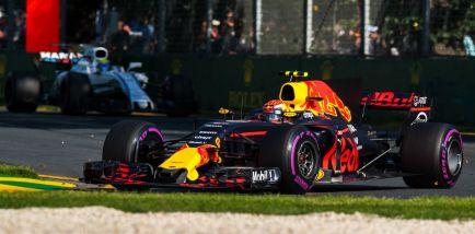 """Verstappen: """"Estoy aliviado por terminar cerca de Ferrari y Mercedes"""""""