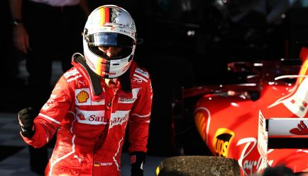 """Victoria de Vettel: """"Queda mucho, ahora estoy demasiado feliz"""""""
