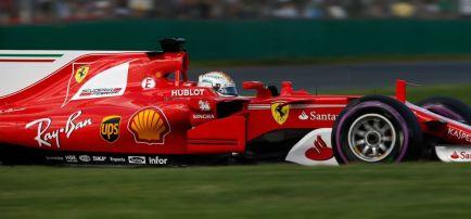 """Vettel, segundo: """"Mañana podemos hacer algo en carrera"""""""