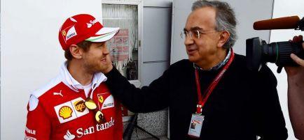 "Marchionne, emocionado con la victoria de Ferrari: ""Ya era hora"""