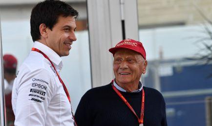 """Wolff y el progreso de Lauda: """"Va a mejor, ya me llamó 'estúpido'"""""""