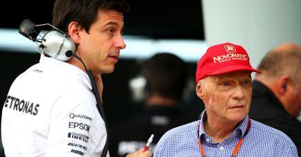 """Lauda, molesto con la retirada de Nico: """"Pudo haberlo insinuado"""""""