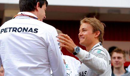 """Wolff: """"Todos estamos en una rueda de hámster, Rosberg saltó"""""""