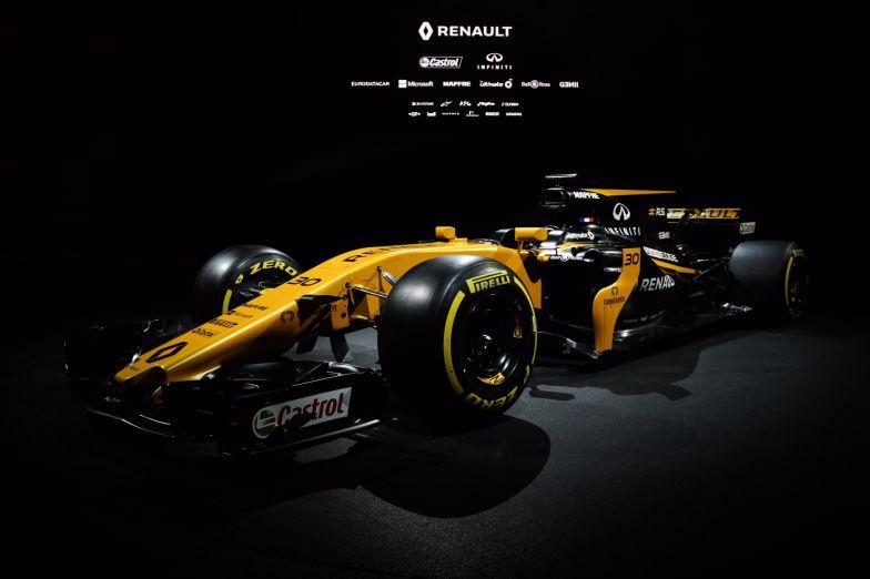 Renault presenta el nuevo RS17, su arma para 2017