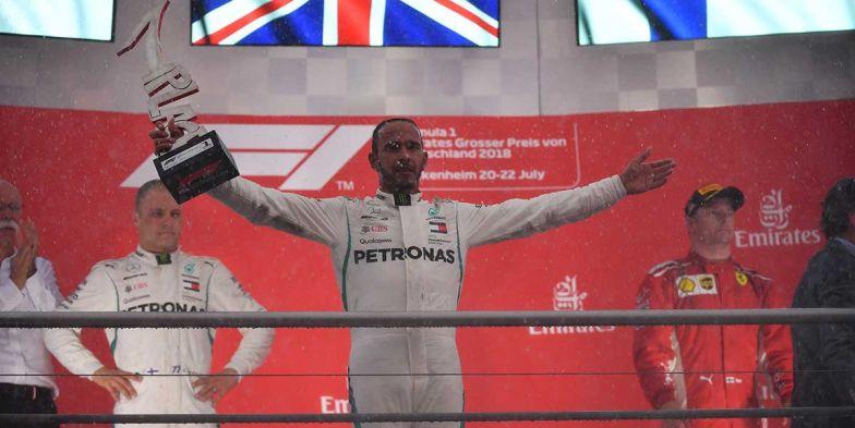 OFICIAL: Hamilton mantiene la victoria