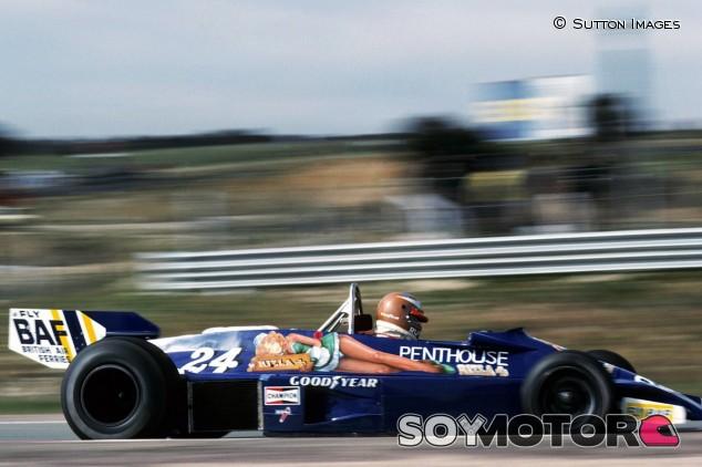 Rupert Keegan en el GP de España de 1977 - SoyMotor.com