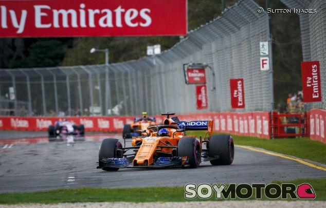 Fernando Alonso en el GP de Australia 2018 - SoyMotor.com