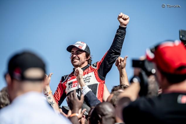 Toyota abre las puertas a un retorno de Alonso al Dakar - SoyMotor.com