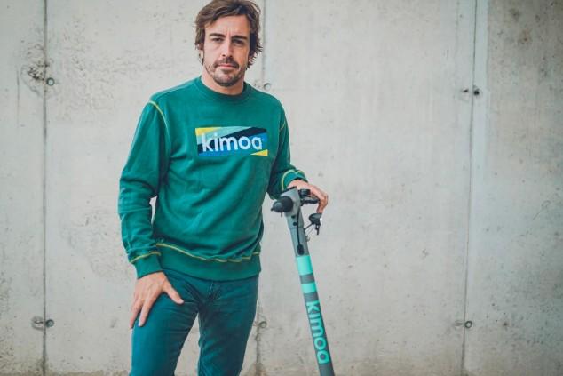 El patinete eléctrico de Fernando Alonso - SoyMotor.com