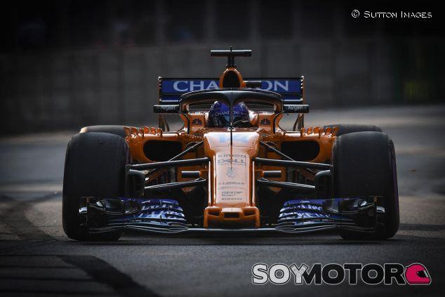 Fernando Alonso en Singapur - SoyMotor