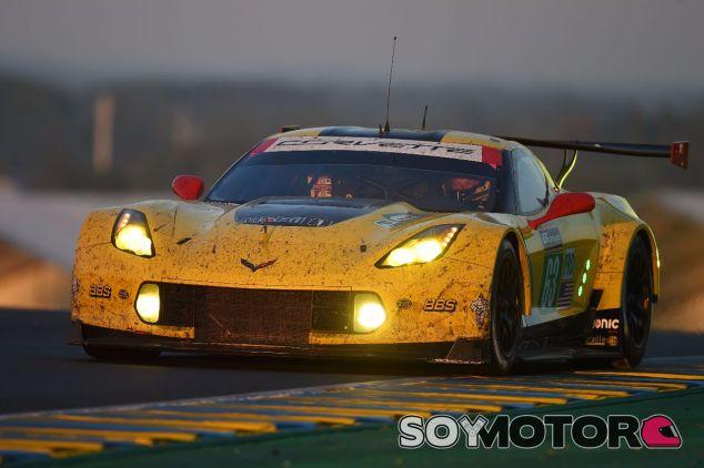 El coche de Antonio García en Le Mans 2017 – SoyMotor.com