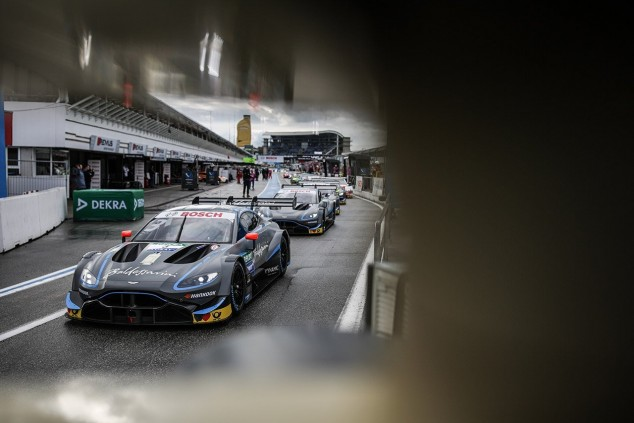 El equipo R-Motorsport en Hockenheim - SoyMotor.com