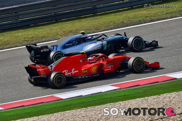 Valtteri Bottas y Kimi Räikkönen en Shanghái - SoyMotor.com